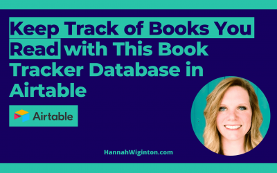 Keep Track of The Books You Read with This Book Tracker Database in Airtable