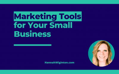 Marketing Tools for Your Small Business