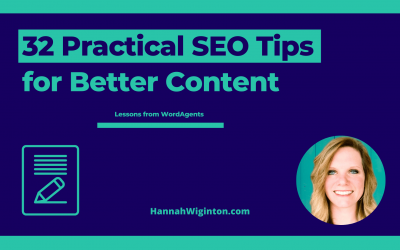 32 Practical SEO Tips for Better Content Rankings