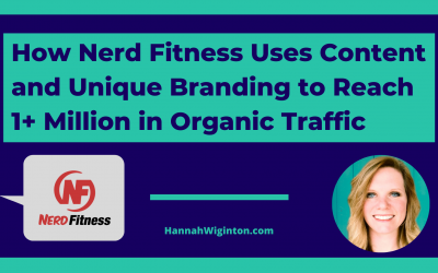 How Nerd Fitness Uses Content and Unique Branding to Reach 1+ Million Organic Traffic