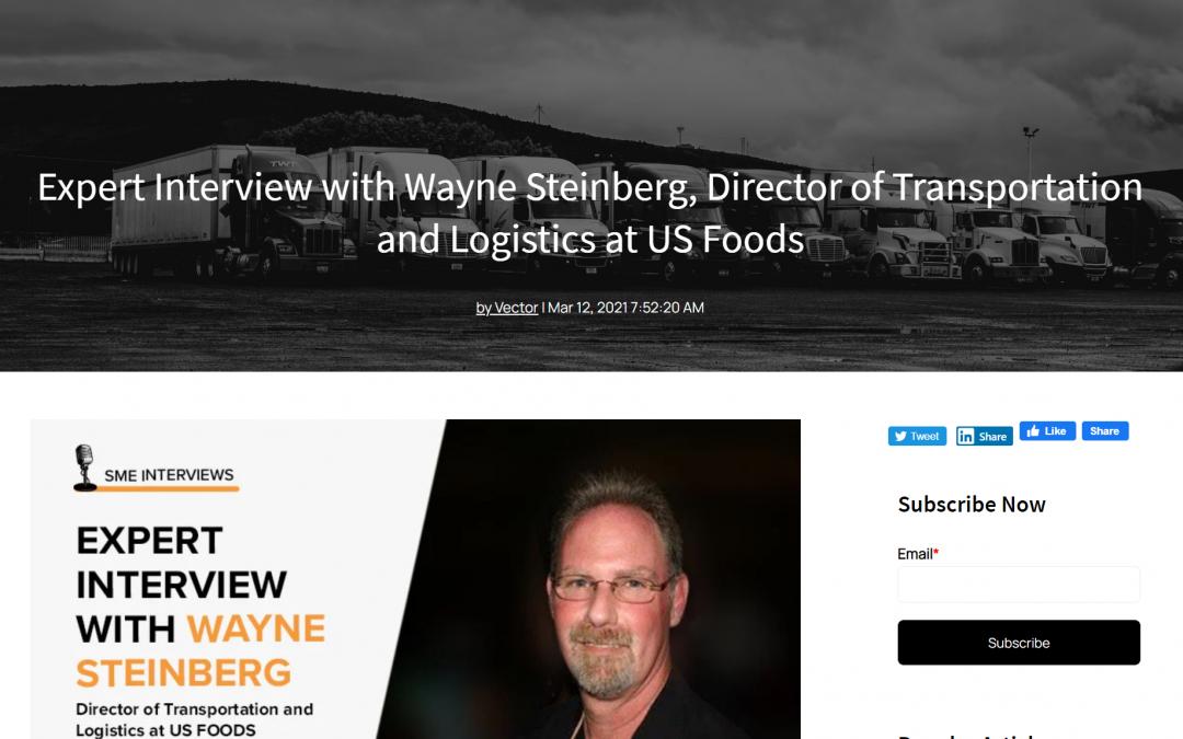 Expert Interview as Content – Logistics Industry