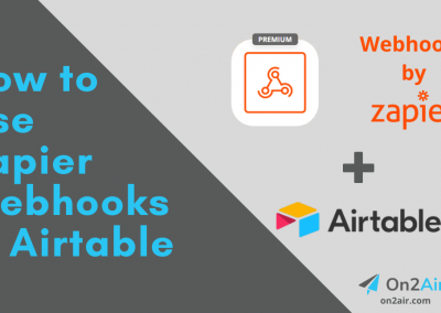How to Use Zapier Webhooks in Airtable