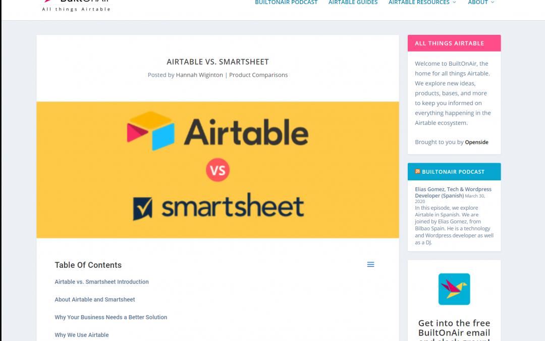 Airtable vs. Smartsheet