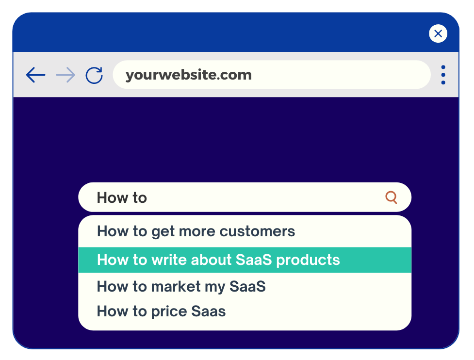 SaaS website copywriter